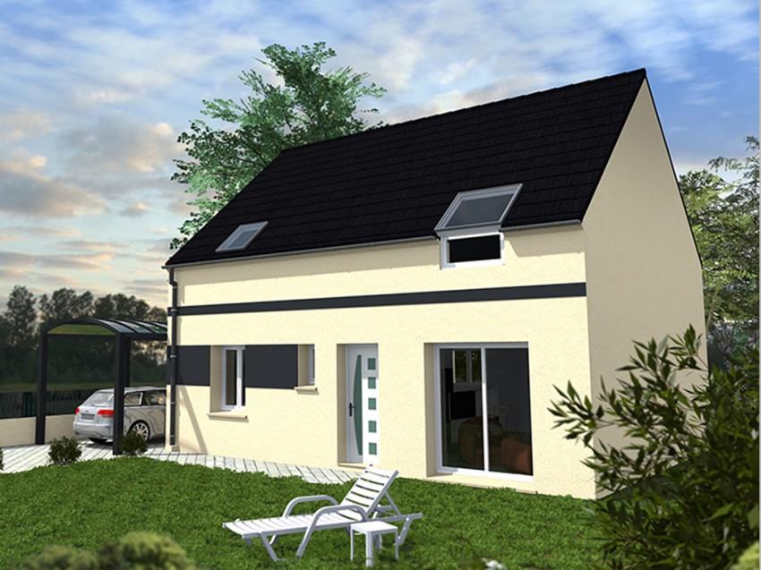 construction maison premium nergie positive access 97 m. Black Bedroom Furniture Sets. Home Design Ideas