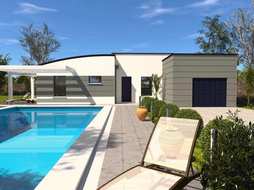 Construction maison individuelle contemporaine avenir de 94 m2 - Avenir maison ...
