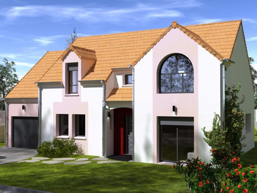 Construction maison individuelle traditionnelle byblos de for Prix m2 construction maison rt 2012
