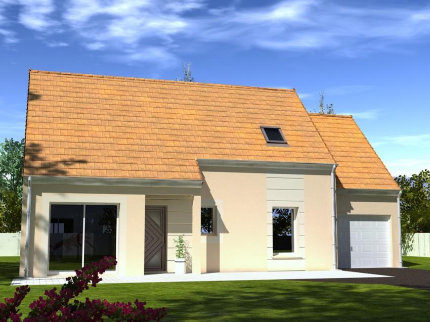 Construction maison individuelle traditionnelle baya de 108 m2 for Prix m2 construction maison rt 2012