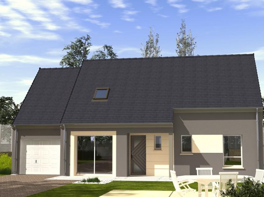 Construction maison individuelle traditionnelle el gance for Prix moyen m2 construction neuve rt 2012