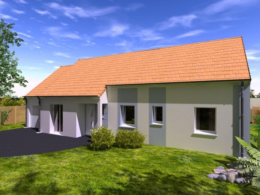 Construction maison individuelle traditionnelle el gance for Modele maison mitoyenne