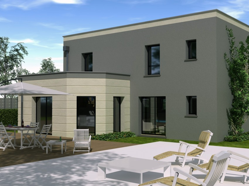 Construction Maison Individuelle Contemporaine Evasion De  M