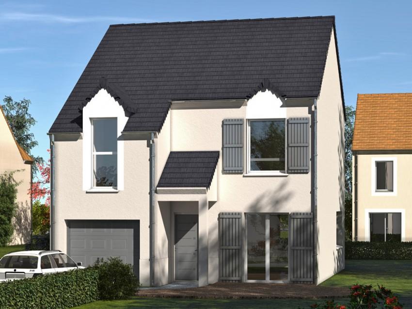 Construction maison individuelle traditionnelle for Prix m2 construction maison rt 2012