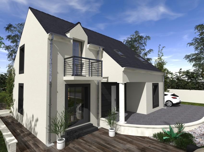 construction maison individuelle traditionnelle marquise de 126 m2. Black Bedroom Furniture Sets. Home Design Ideas