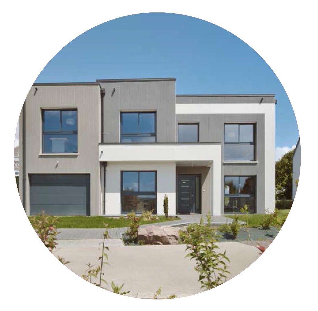 Construction maison individuelle contemporaine design de 171 m2