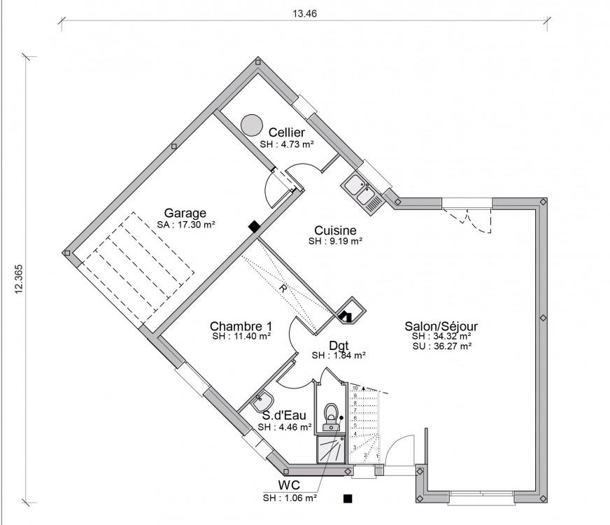 Construction Maison Individuelle Traditionnelle Izis De  M