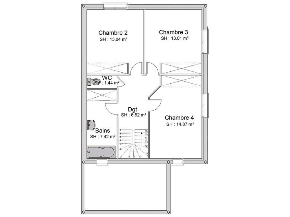 Construction maison premium nergie positive maison de for Plan maison positive
