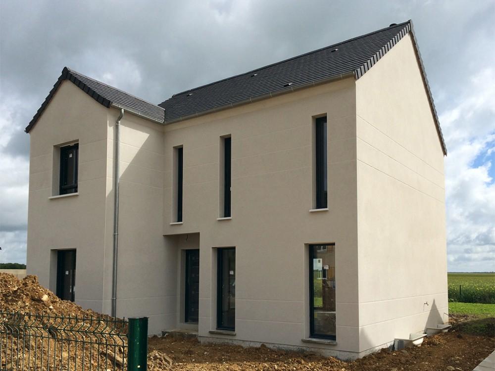 construction maison individuelle tage saint cyr de 86 m2. Black Bedroom Furniture Sets. Home Design Ideas