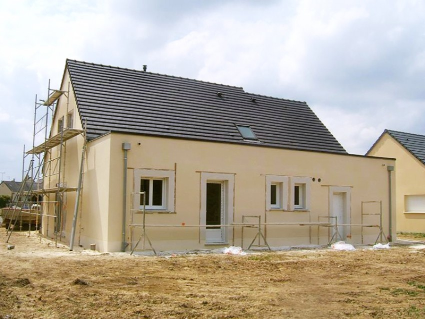 d but chantier maison neuve fondations sur vide d 39 air. Black Bedroom Furniture Sets. Home Design Ideas