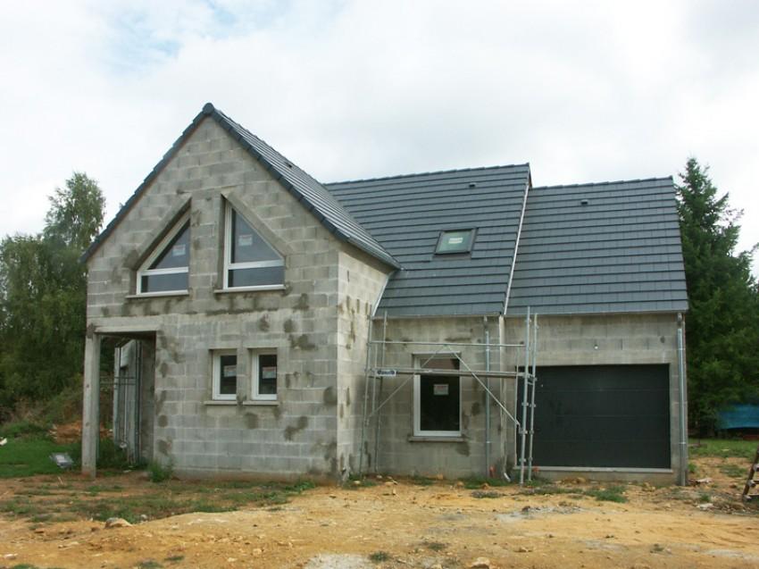 Photos maisons neuves individuelles photo chantier de for Construction maison modele