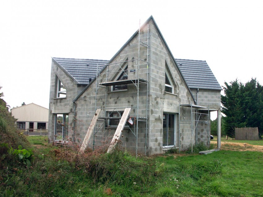 Photos maisons neuves individuelles photo chantier de - Modele de construction maison ...