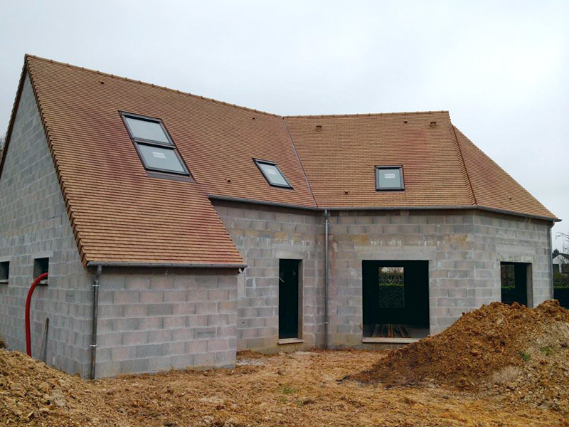 Photos maisons neuves individuelles photo chantier de for Assurance construction maison individuelle