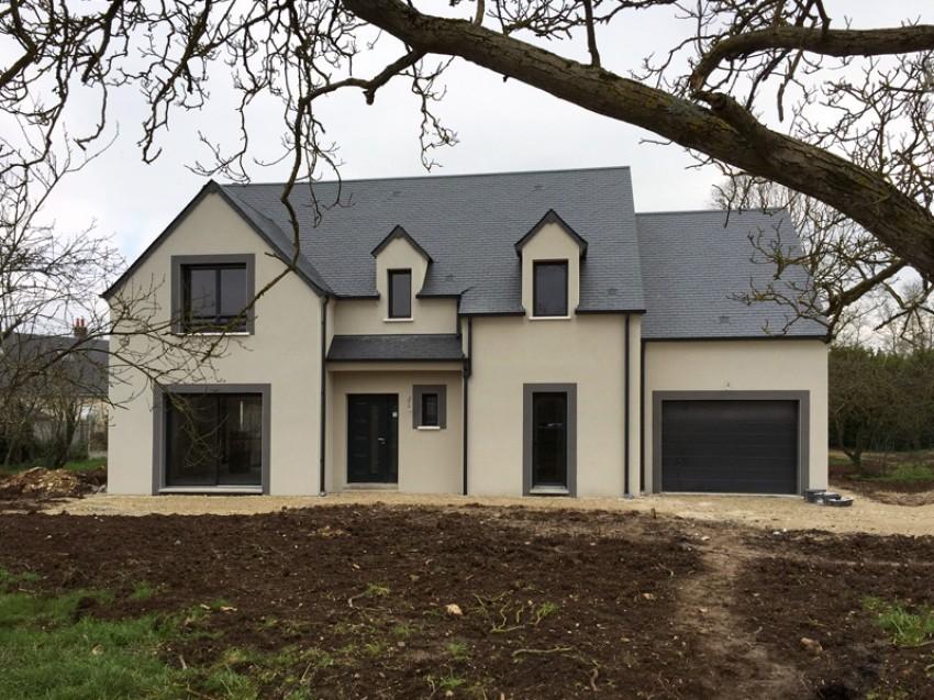 Exemple de facade de maison une belle de des deux for Exemple de facade de maison