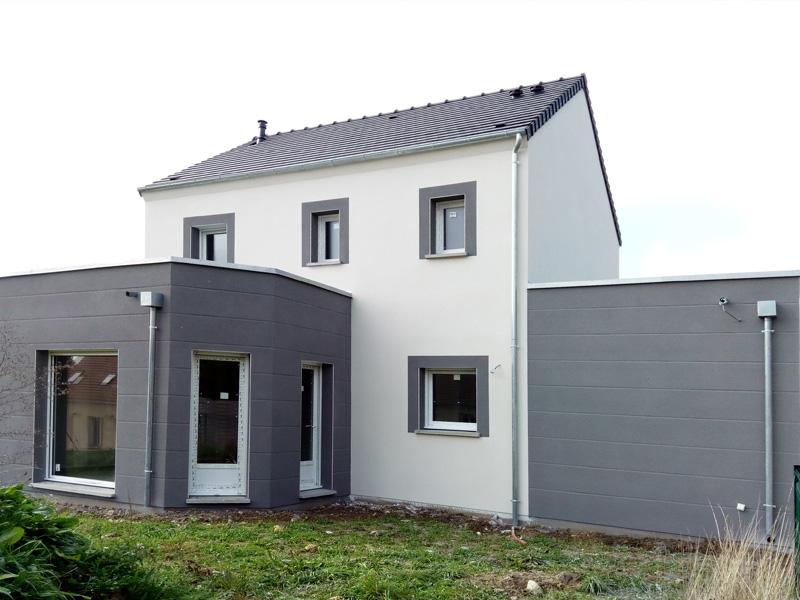 Maison toit plat sur mesure for Maison sur mesure prix