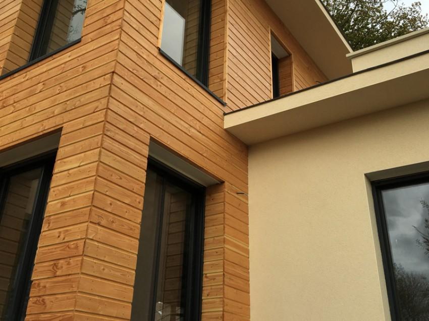 Galerie des maisons sur mesure for Maison bois sur mesure
