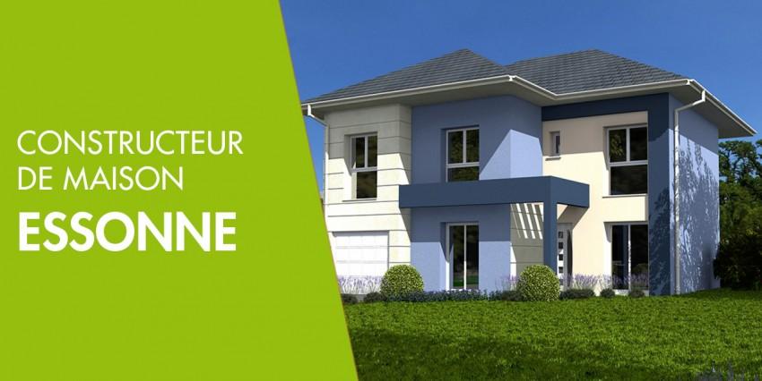 Constructeur de maison neuve essonne 91 constructeur maison for Construction maison neuve ile de france