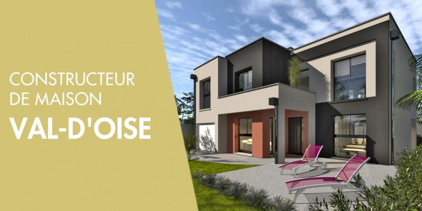 Constructeur de maison val d 39 oise 95 constructeur maison for Construction maison neuve ile de france