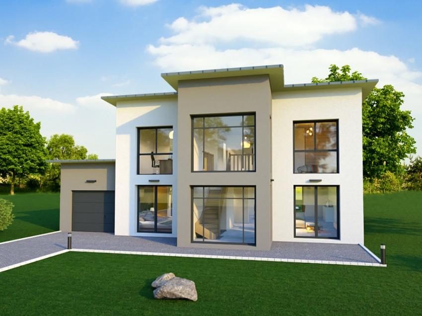 Plan De Maison Individuelle 170 M A L Architecture Moderne